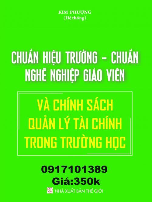 CHUAN HIEU TRUONG – CHUAN NGHE NGHIEP….Bia Quang cao 1