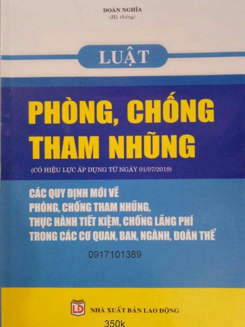 LUÂT PHÒNG CHÔNG THAM NHUNG
