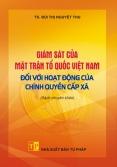 Giám sát của Mặt trận Tổ quốc Việt Nam đối với hoạt động của chính quyền cấp xã