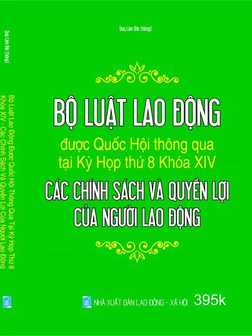 BO LUAT LAO DONG – CAC CHINH SACH VA QUYEN LOI CUA NGUOI LDONG