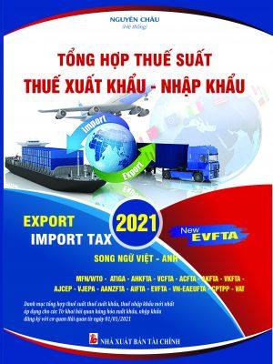 Thuế xuất nhập khẩu 2021