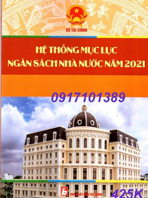 HỆ THONG MUC LUC 2021