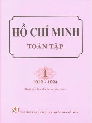 sách Hồ Chí Minh toàn tập (Bộ 15 tập).